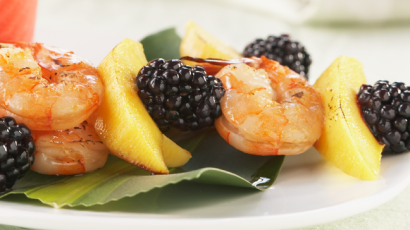 Fruity Shrimp Skewers