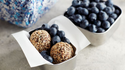 Blueberry Cocoa Balls