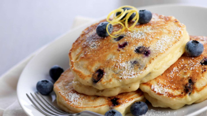 Luscious Blueberry Pancakes